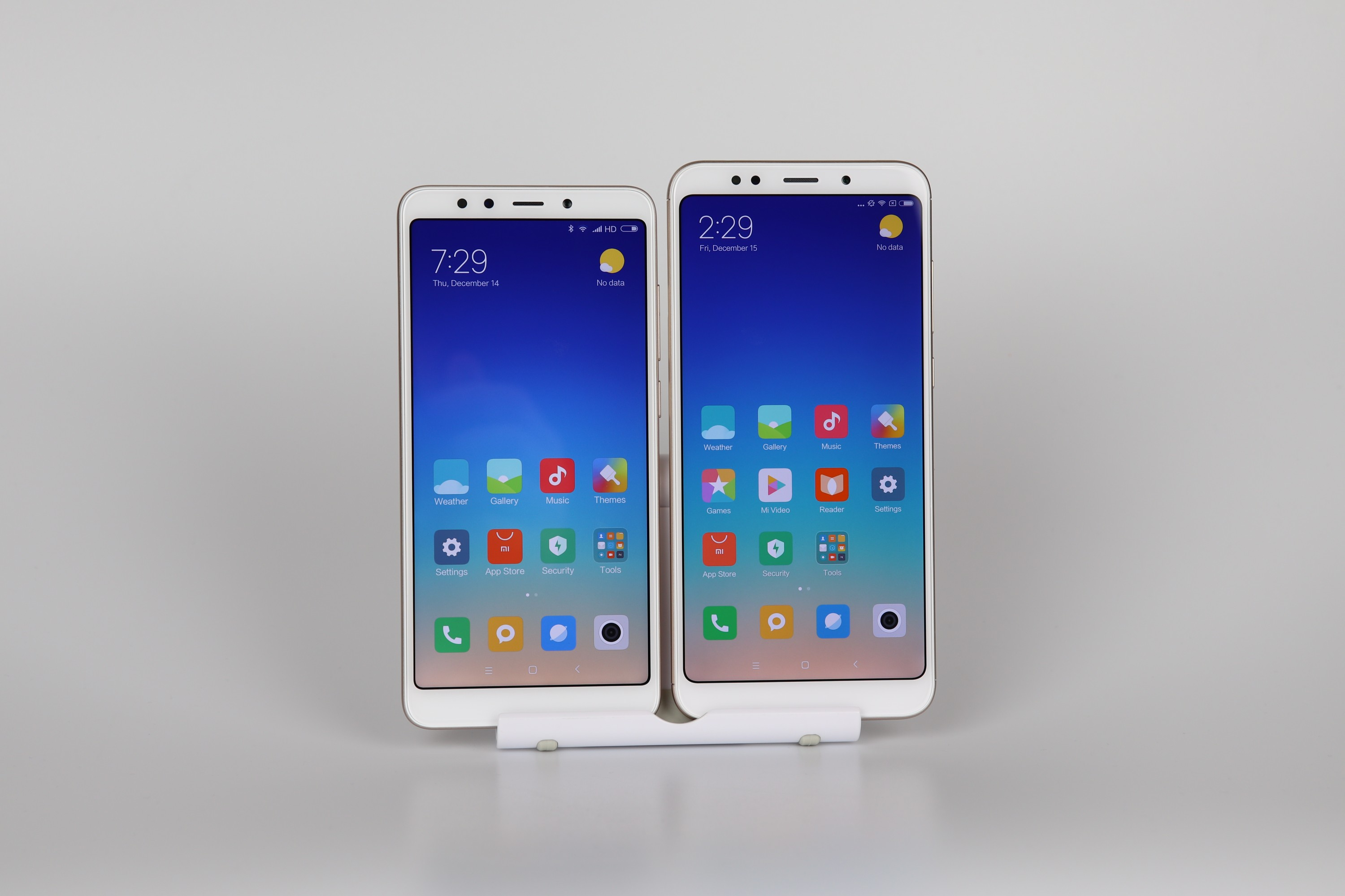 Xiaomi Redmi 5 Plus Display Vergleich 1