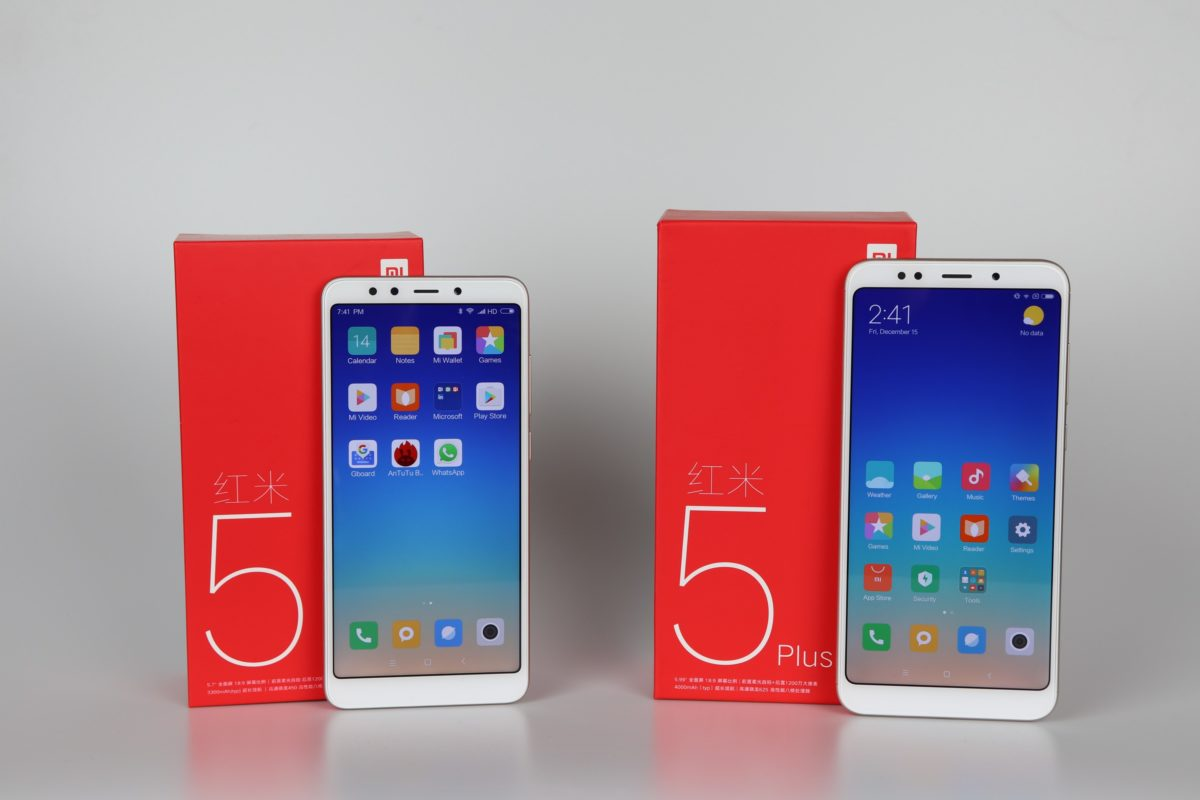 Xiaomi Redmi 5 Plus Redmi 5