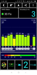 Xiaomi Redmi 5 GPS Test