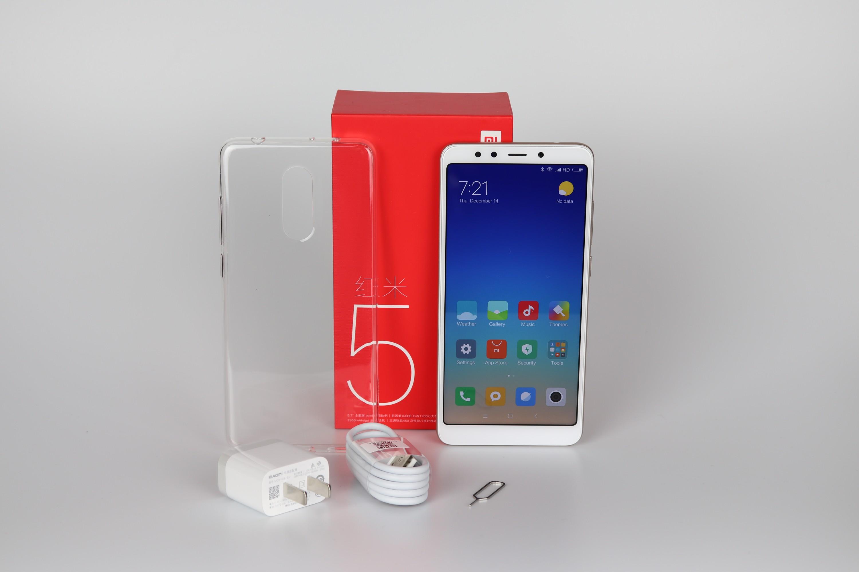 Xiaomi Redmi 5 Lieferumfang 2