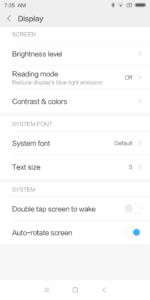 Xiaomi Redmi 5 MIUI 9.1 System 2