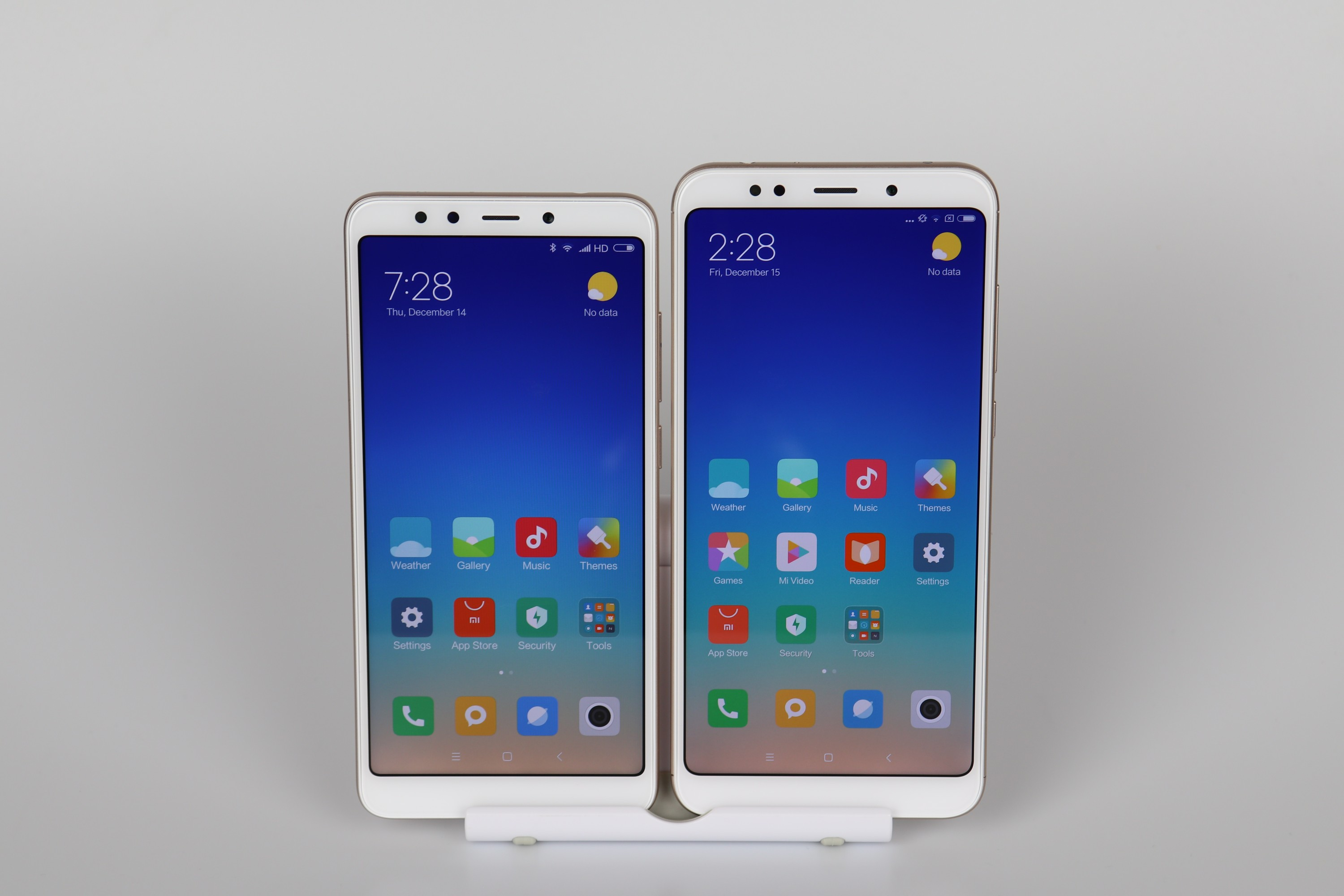 Xiaomi Redmi 5 Redmi 5 Plus Display Vergleich 2