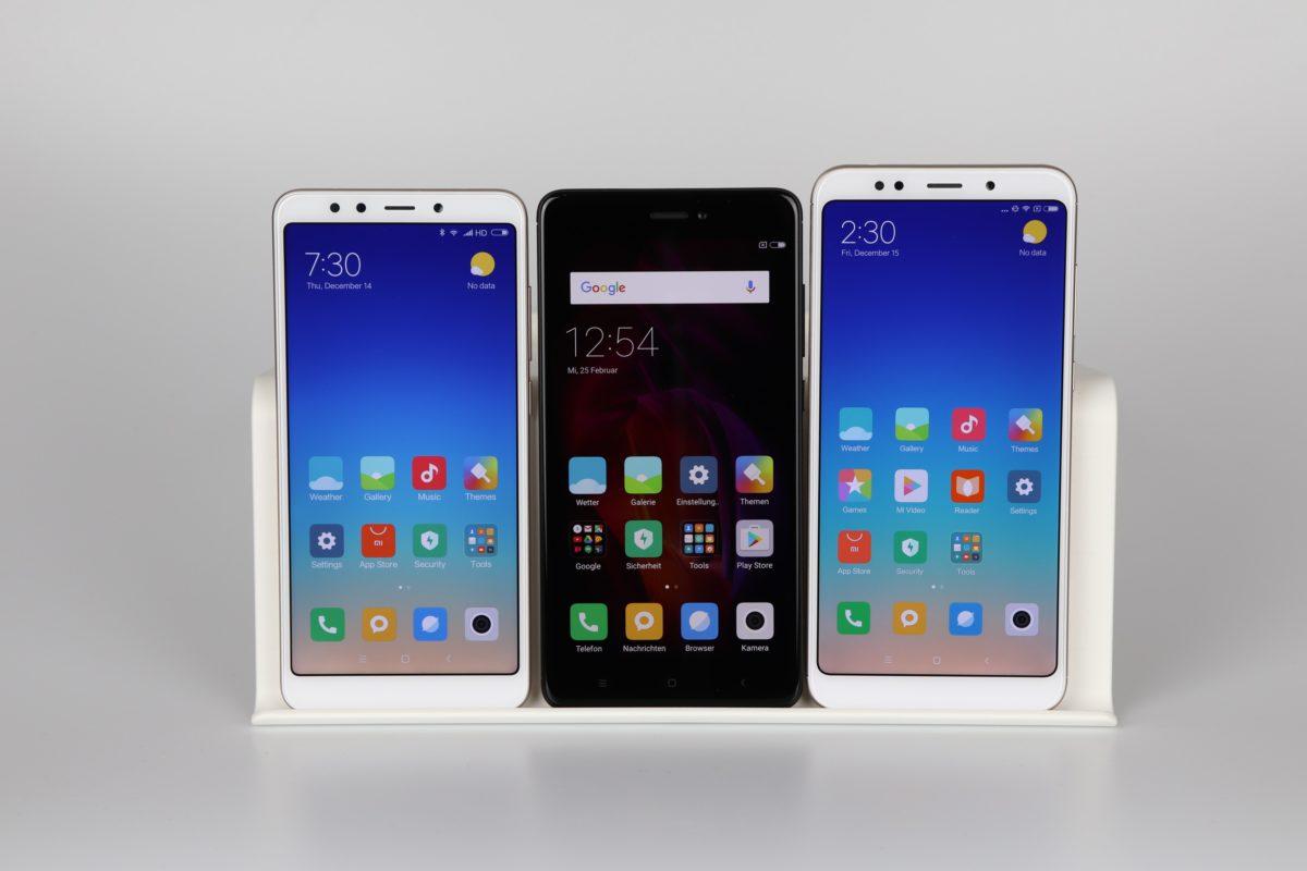 Xiaomi Redmi 5 Testbericht Vergleich