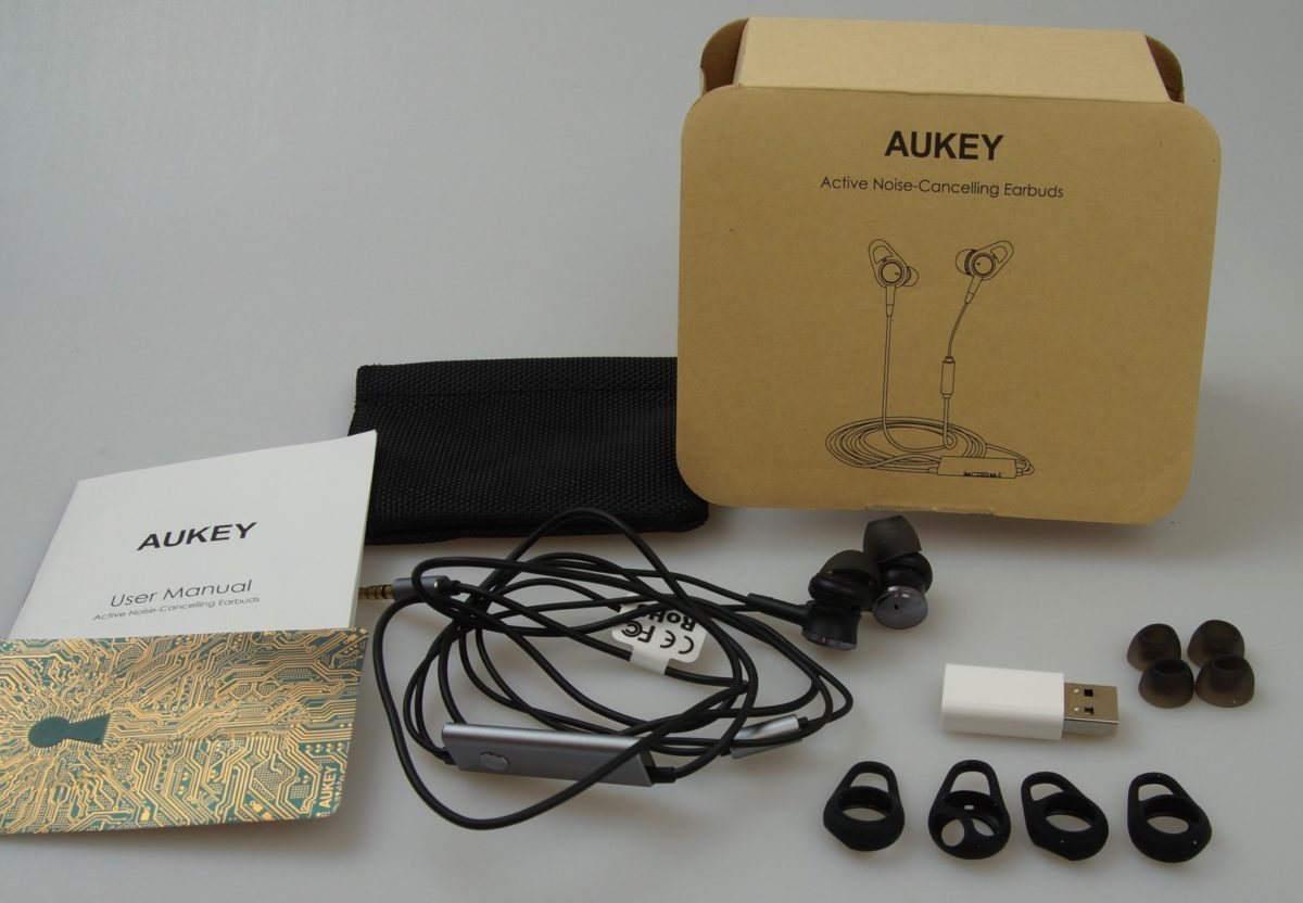 Aukey Active Noise Cancelling In Ears 10