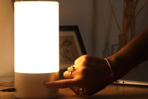 Aukey RGB Nachttischlampe Sample 1