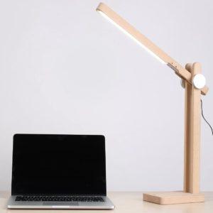 Aukey Schreibtischlampe Holz sample 4