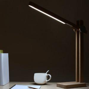 Aukey Schreibtischlampe Holz sample 5