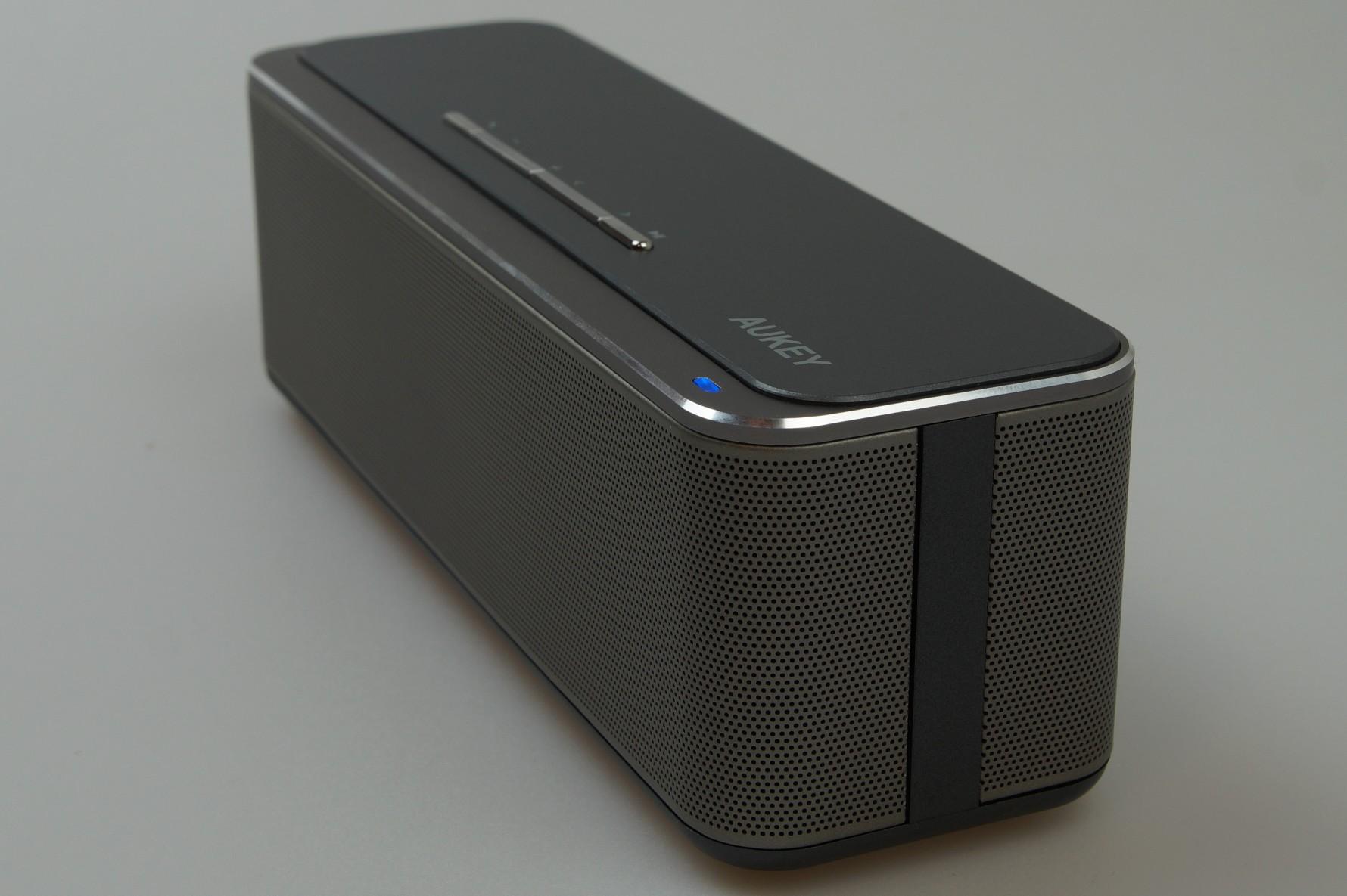aukey sk s1 bluetooth lautsprecher im test klingt der. Black Bedroom Furniture Sets. Home Design Ideas