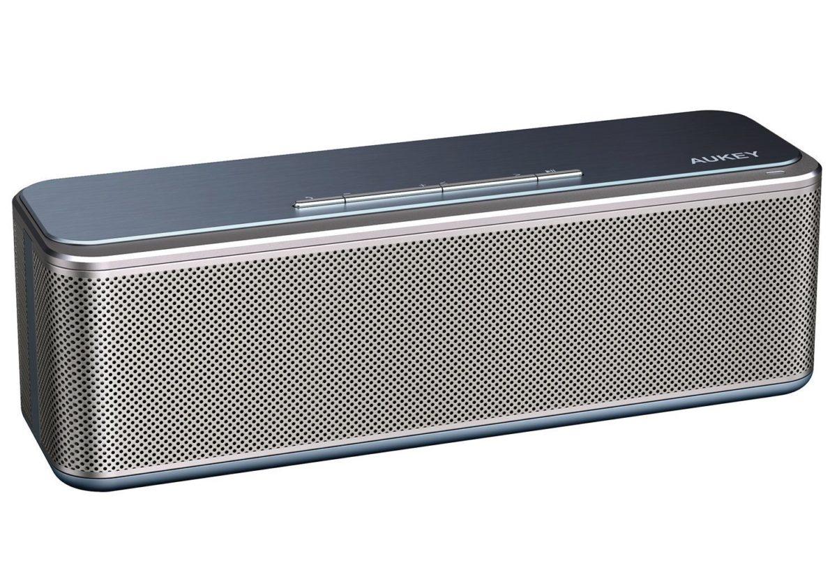 aukey sk s1 bluetooth lautsprecher im test klingt der sch nling gut. Black Bedroom Furniture Sets. Home Design Ideas