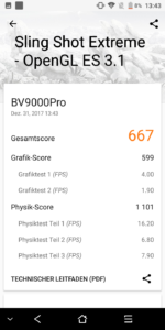 losless blackview bv9000pro 3dmark