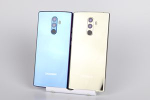 Doogee Mix 2 Gold Blau 2