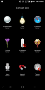 Doogee Mix 2 Sensor