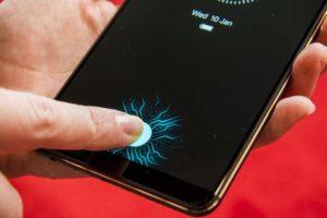 Vivi Synaptics Fingerabdrucksensor 3