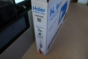 Haier 55 4K TV Packung
