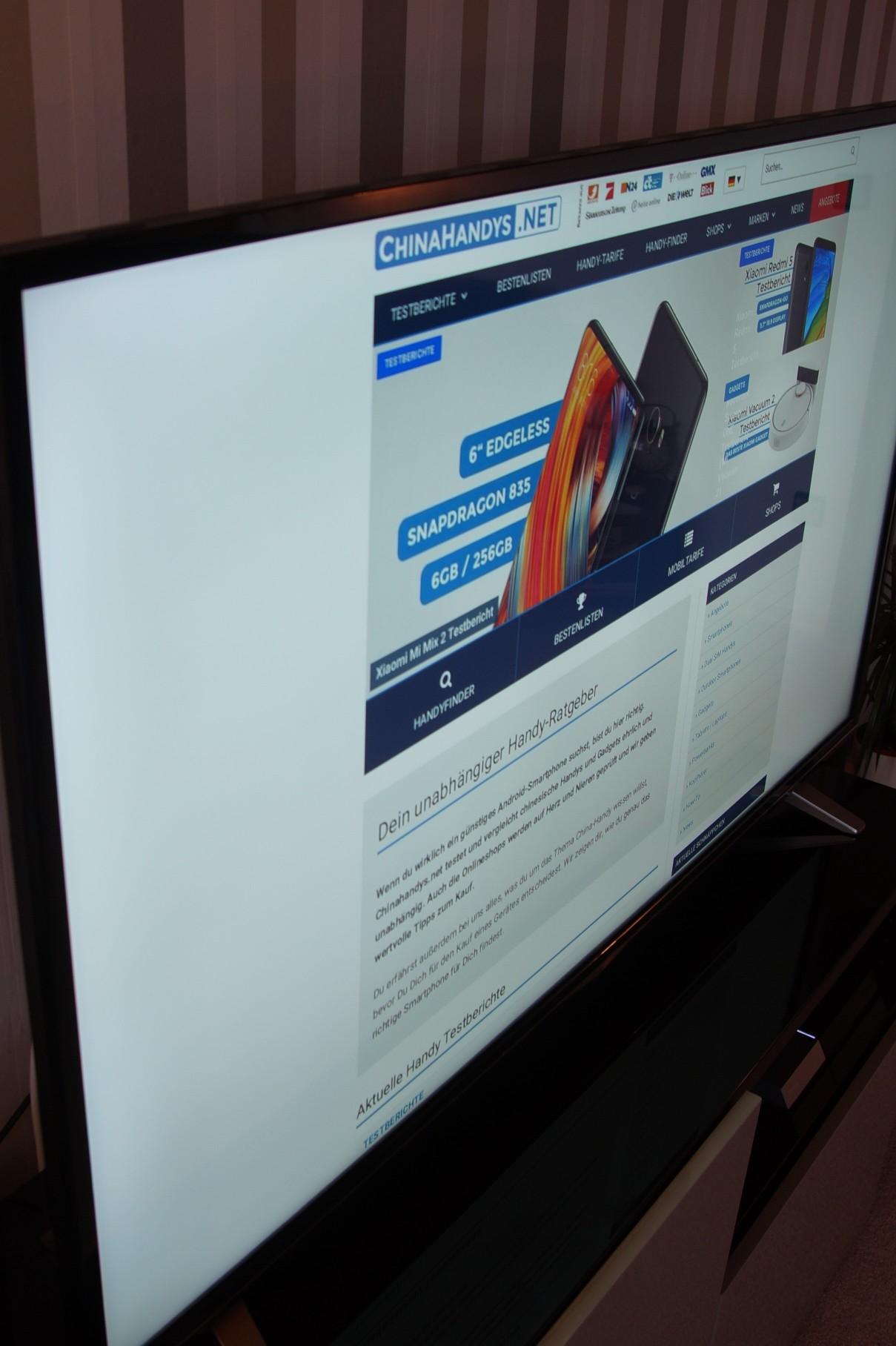 Haier U55H7000 Testbericht - Schnäppchen? 55 Zoll 4K TV aus China