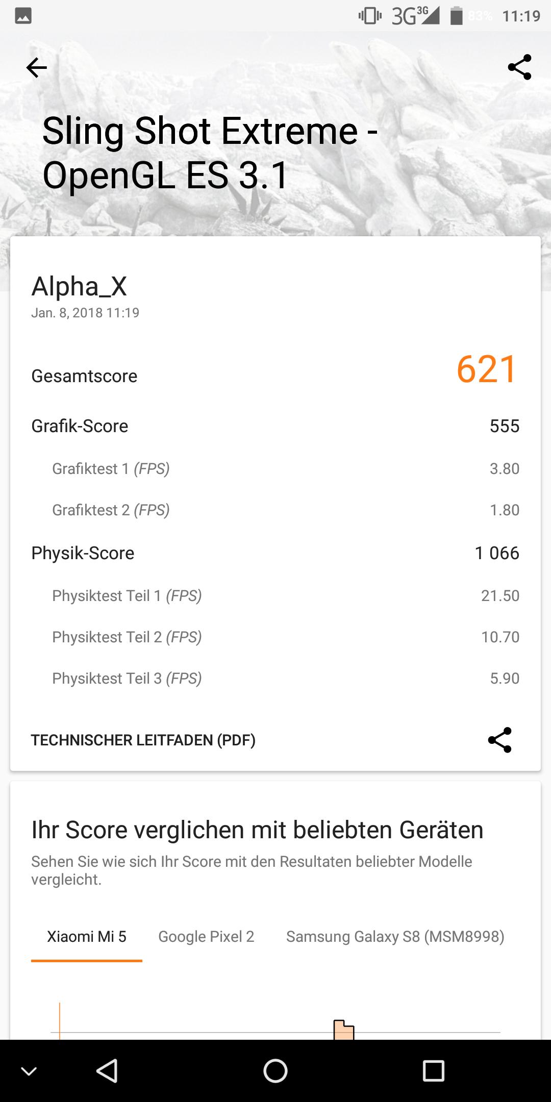 Maze Alpha X 3D Mark