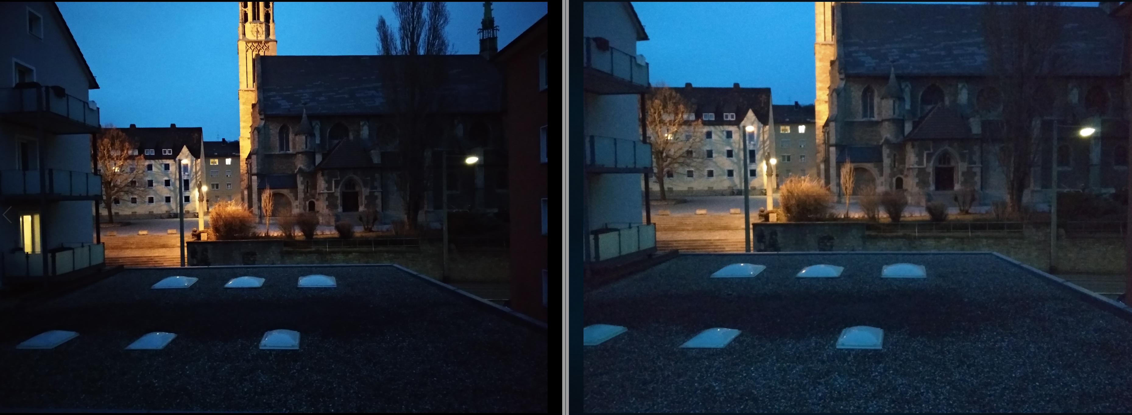 Dämmerung AUfnahmen Dunkel Nacht 1