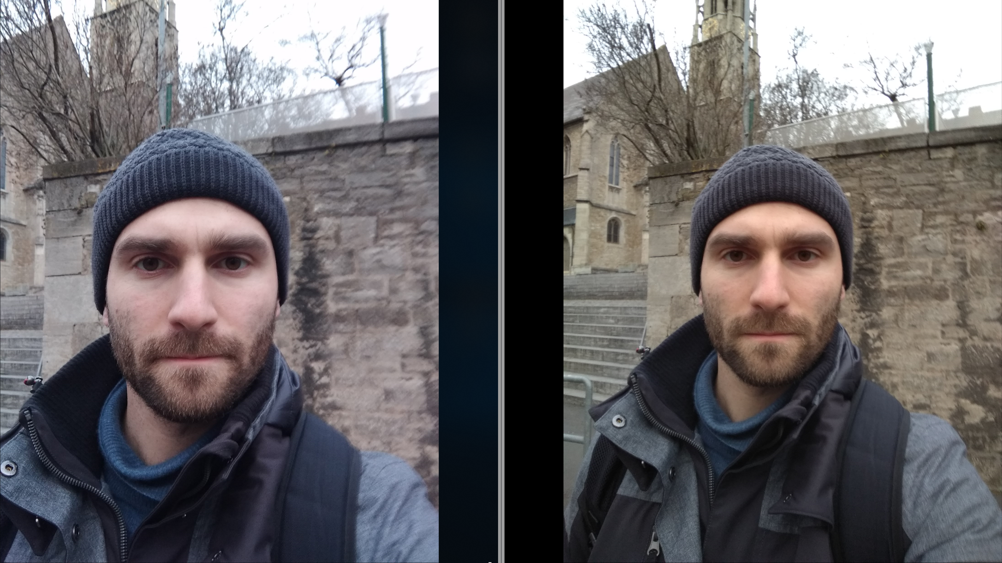 Selfie Vergleich XIaomi Redmi 1