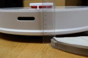 Xiaomi Roborock Sweep One Höhe Maße
