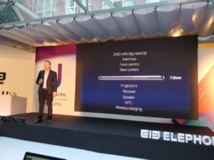 Elephone U Pro Release Event 1