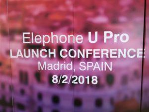 Elephone U Pro Release 6