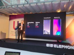Vergleich zu anderen Smartphones Elephone U Pro 3