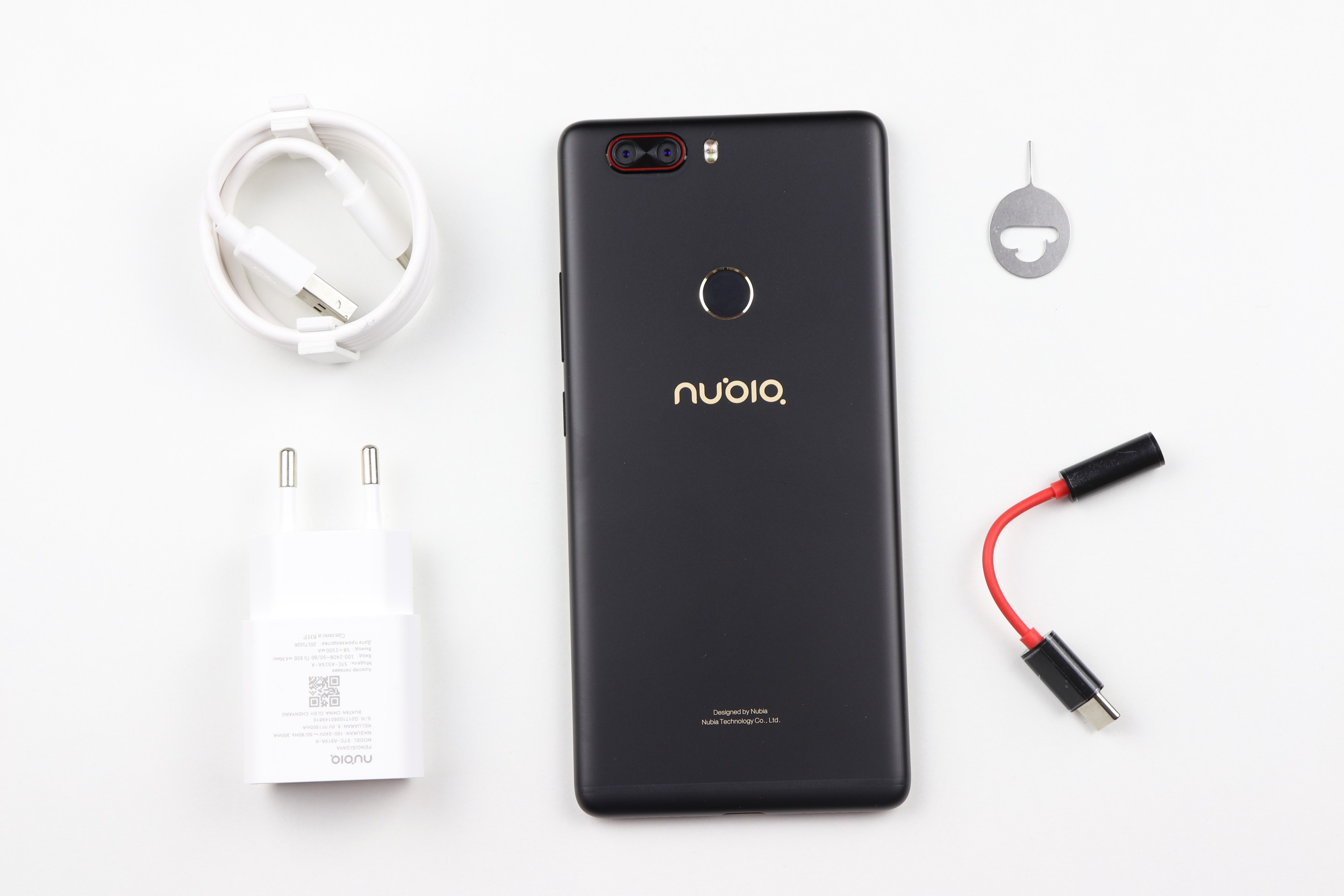 Nubia Z17 Lite Scope of delivery