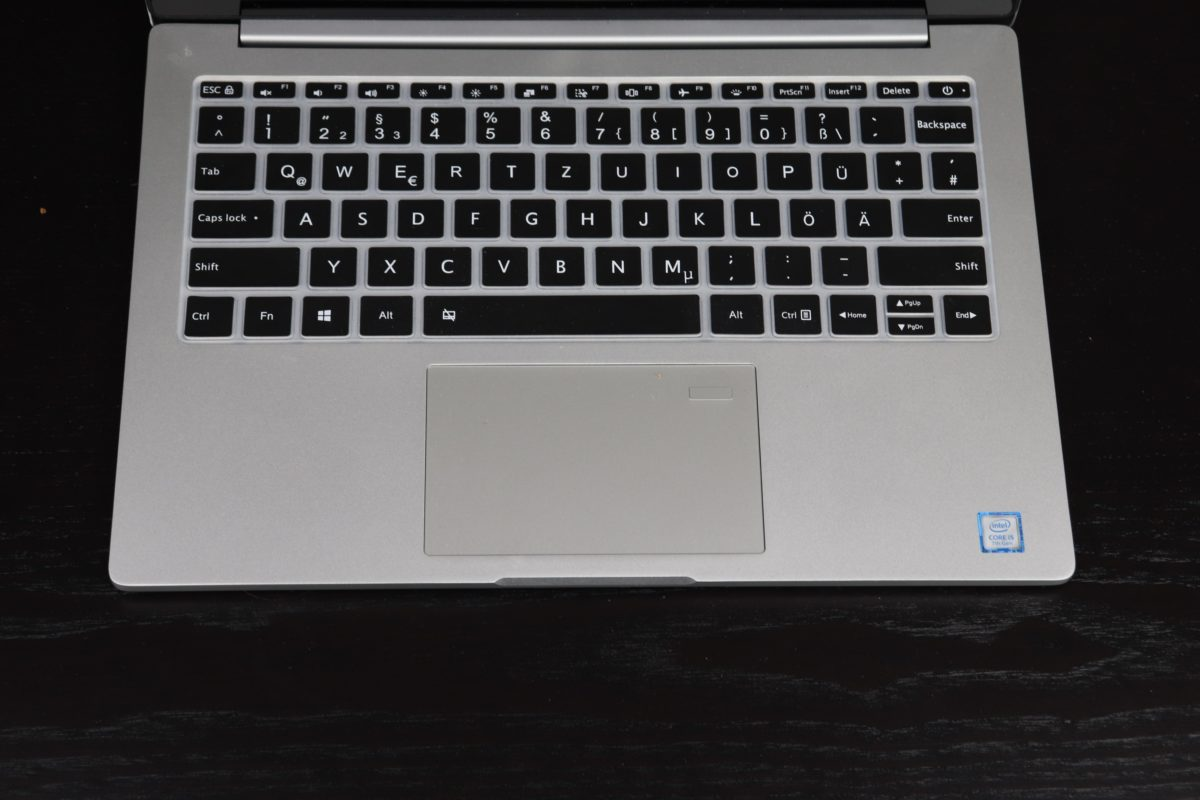 Xiaomi Mi Notebook 13 15 Pro tastaturaufkleber matte 1