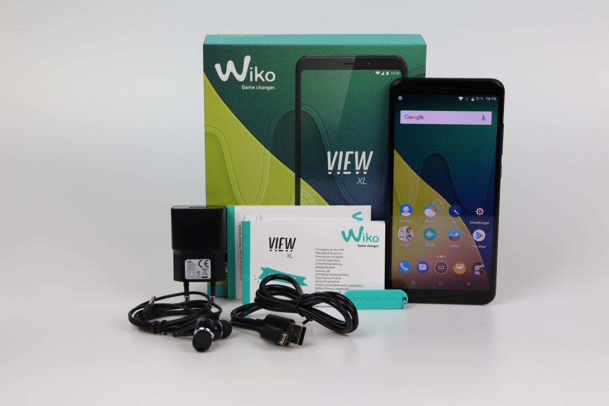 WIKO View XL Testbericht
