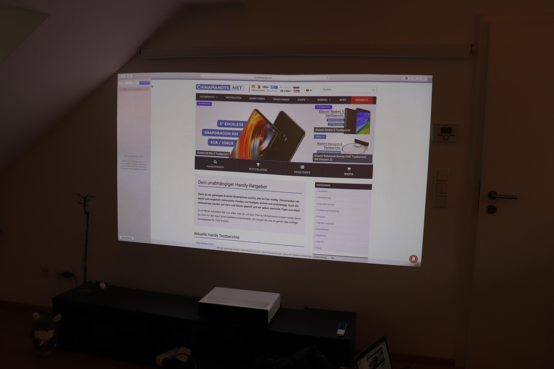 Xiaomi Mi Projector Testbericht Der Ultimative