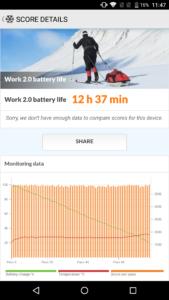 AGM X2 Outdoor Smartphone Test Akku