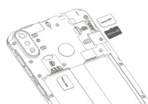 Cubot R11 SIM Slots