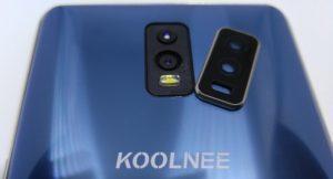 Koolnee K1 Trio Kameraabdeckung