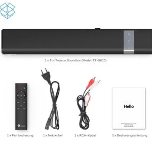 TaoTronics Soundbar im Test TT SK016 Sample 1