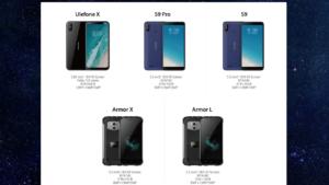 Ulefone LineUp 2018 1