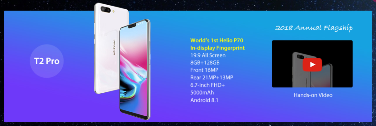 Ulefone T2 T2 Pro 13