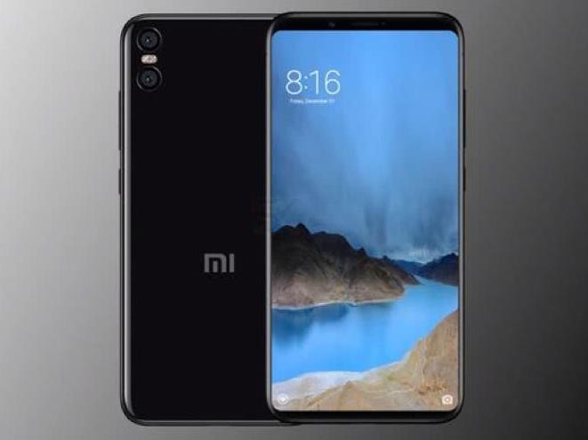 Xiaomi Mi7 Design