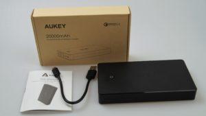 Aukey PB T10 EasyAcc D20 Megacharge Testbericht 1