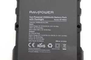 RAVPower Solar Powerbank 9