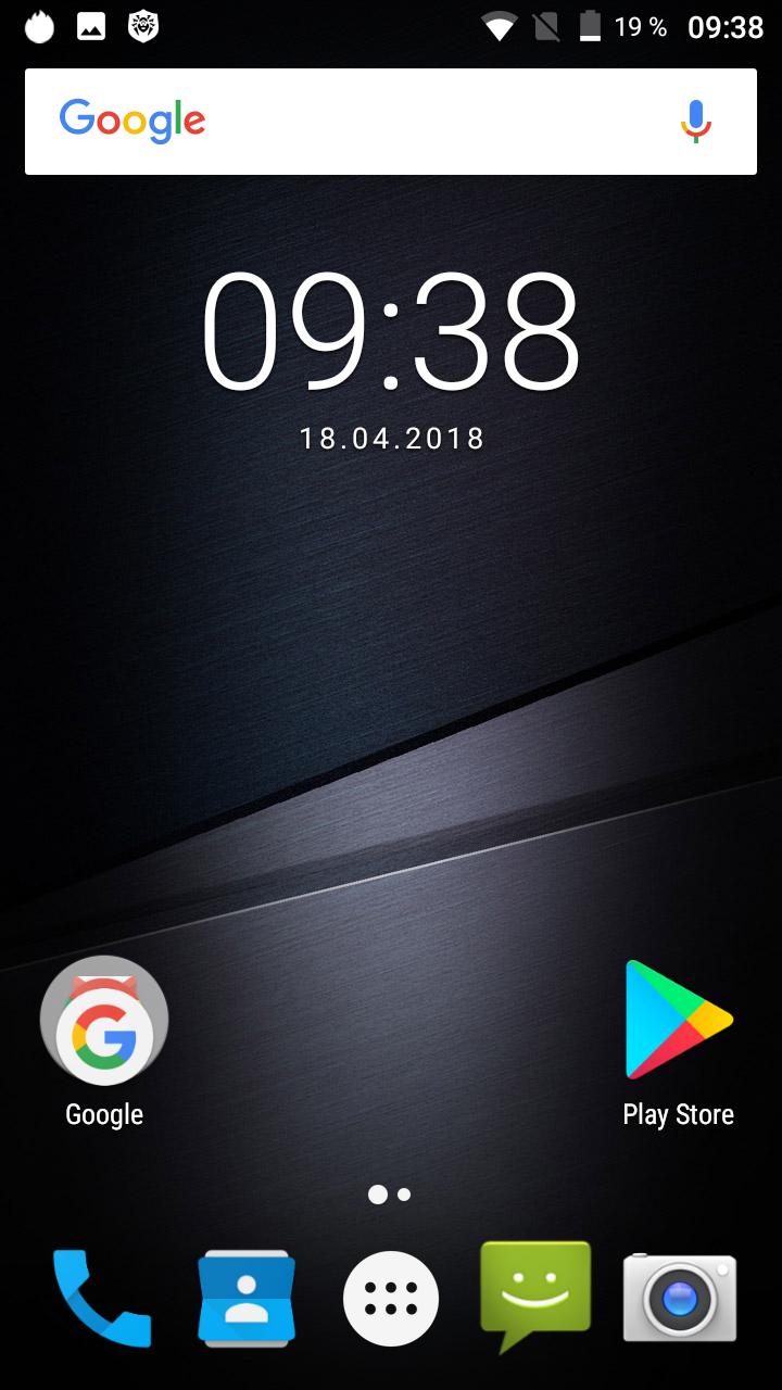 Cubot KingKong System Android 7 3