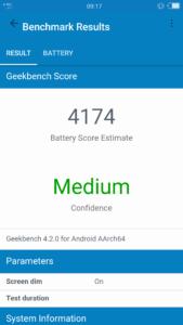 Gome K1 Geekbench 4