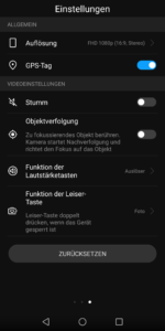 Huawei Mate 10 Lite Camera User Interface 3