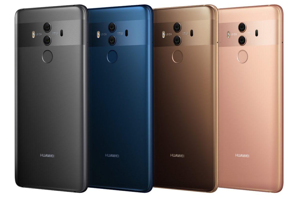 Huawei Mate 10 Pro Test Farben