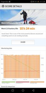 Huawei Mate 10 Pro Test Screenshot Akku 3