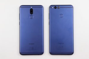 Huawei Mate 10 Lite vs. Honor 7x 1