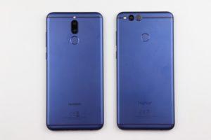 Huawei Mate 10 Lite vs. Honor 7x 1