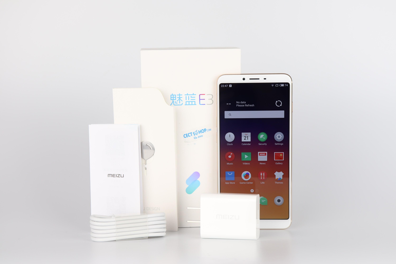Meizu E3 Testbericht Lieferumfang