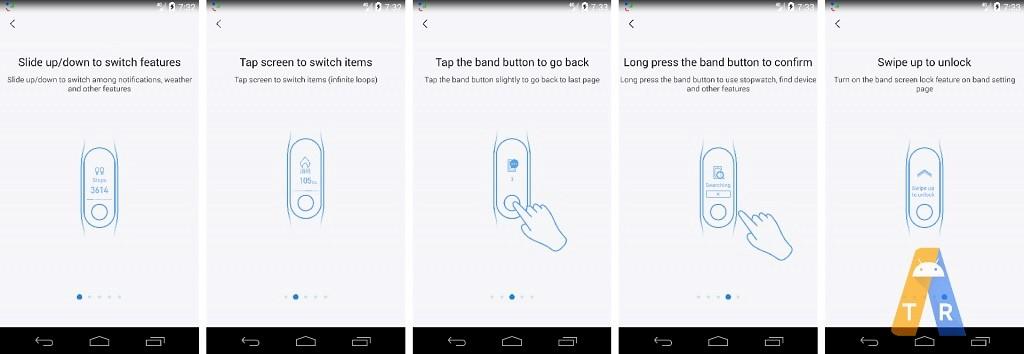 Xiaomi Mi Band 3 Mi Fit App Screenshots