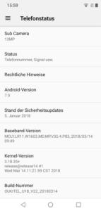 OukitelU18 Android3