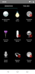 OukitelU18 Sensorbox